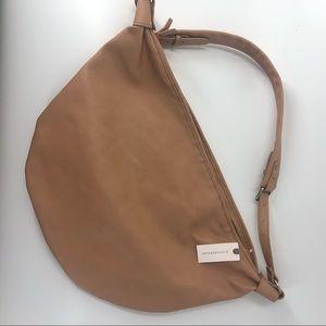 NWT ANTHROPOLOGIE Sadie Slouchy Tote Bag TAN